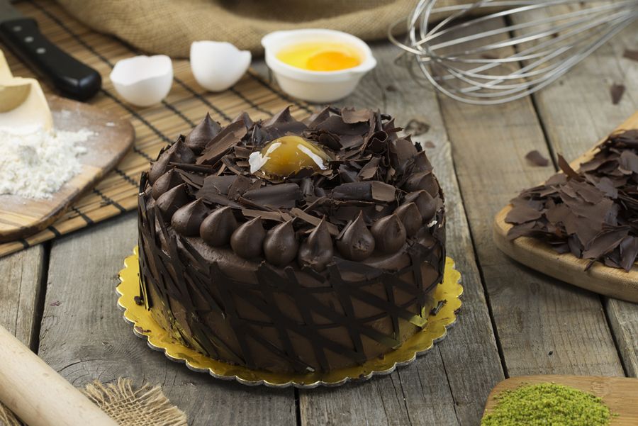Kestane Çikolatalı Pasta