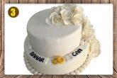Özel pasta siparişleri 15 kişilik ve 20 kişilikten başlar.